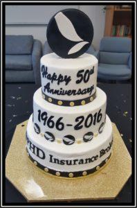 Happy 50th Anniversary PHD Insurance Brokers, Inc.